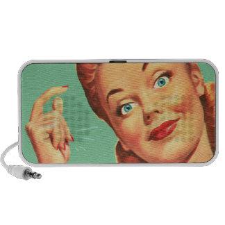 The Kitsch Bitsch : Vintage Snappy Graphic Portable Speaker