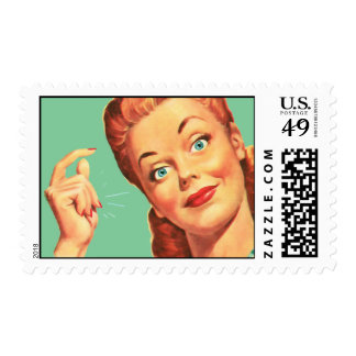 The Kitsch Bitsch : Vintage Snappy Graphic Postage Stamps