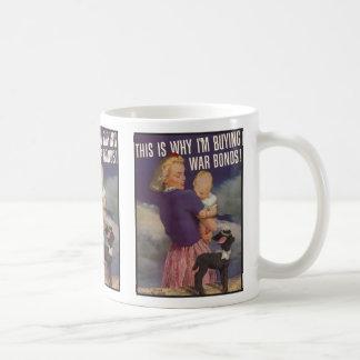 The Kitsch Bitsch : Vintage War Bonds Coffee Mug