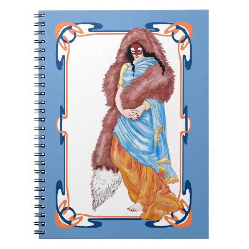the kitsune's wedding spiral note books
