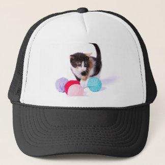 The Kitten Trucker Hat