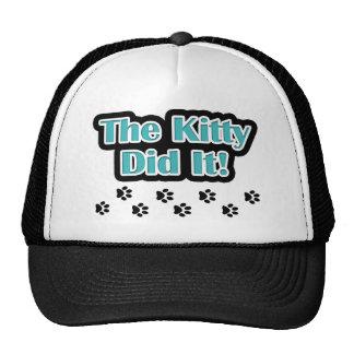The Kitty Did It! Trucker Hat