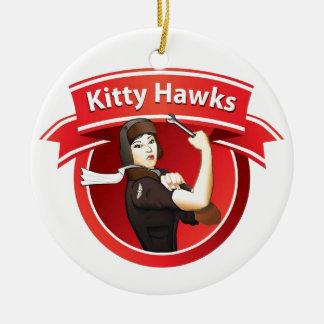 The Kitty Hawks Ceramic Ornament