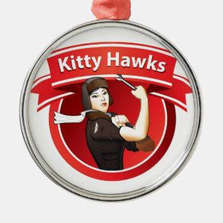 The Kitty Hawks Metal Ornament