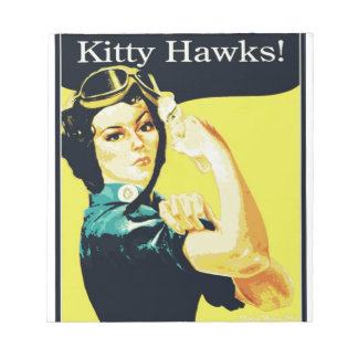 The Kitty Hawks Memo Note Pads