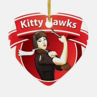 The Kitty Hawks Christmas Ornament