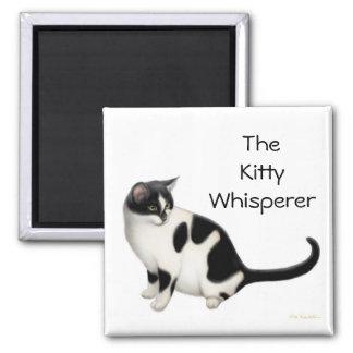 The Kitty Whisperer Cat Magnet