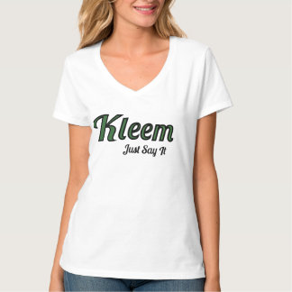 The Kleem Shirt to attract what you want.