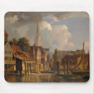 The Kleine Alster in 1842, 1842 Mouse Pad