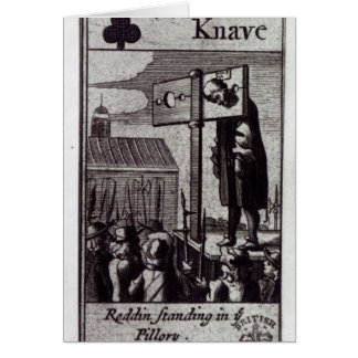 The Knave of Clubs Card