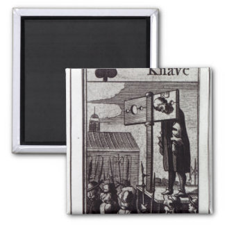 The Knave of Clubs Magnet
