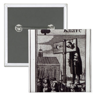 The Knave of Clubs Pinback Button