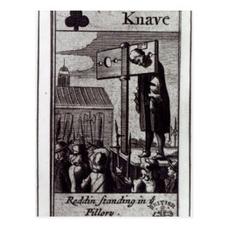 The Knave of Clubs Postcard