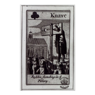 The Knave of Clubs Poster