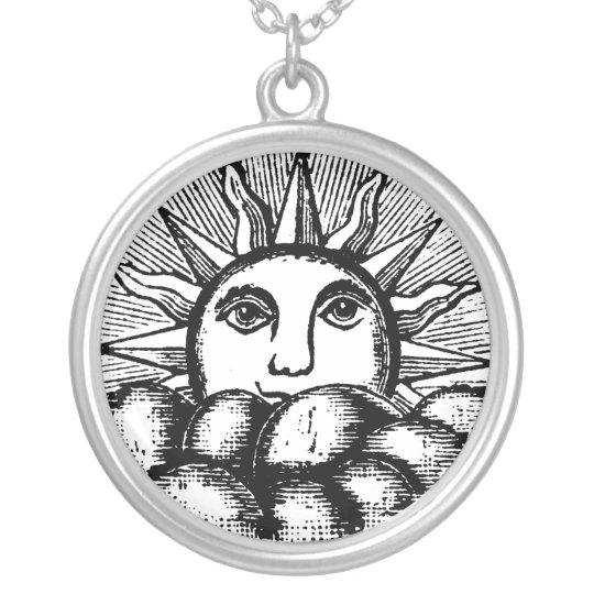 The Kneph Masonic Symbol Sun Freemasonry Necklace