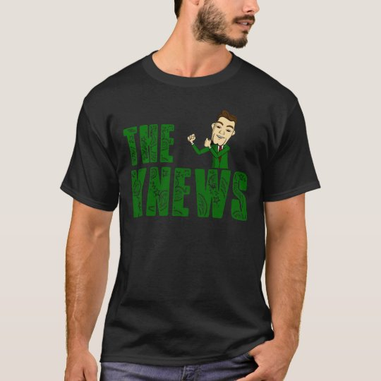 """The Knews"" T-Shirt ~DonGrimm Edition~ BLK"