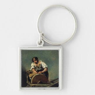 The Knife-Grinder, c.1808-12 Keychains