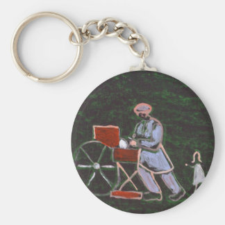 THE KNIFE GRINDER KEYCHAIN