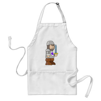The Knight Adult Apron