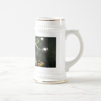 The Knight and The Faerie Beer Stein