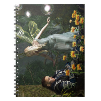 The Knight and The Faerie Spiral Notebooks