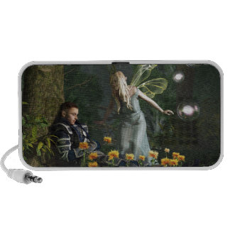 The Knight and The Faerie Travel Speaker