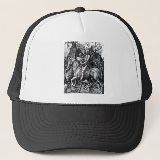 The Knight, Death and the Devil by Albrecht Durer Trucker Hat