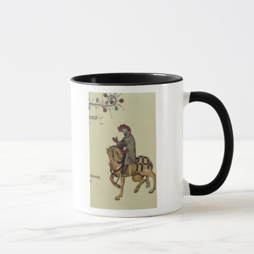 The Knight, facsimile detail from Mug