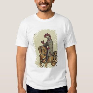 The Knight, facsimile detail from T-Shirt