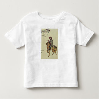The Knight, facsimile detail from Tees