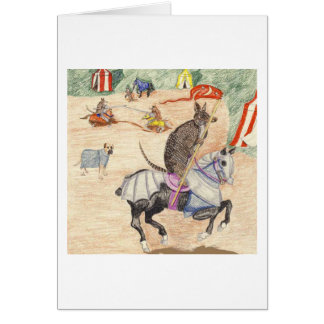 The Knight In Shining Armor Card