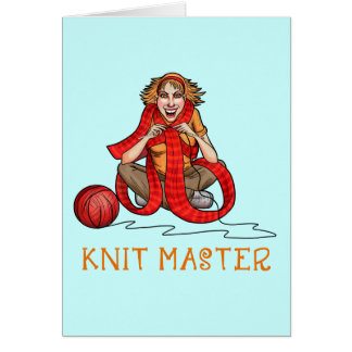 The Knit Master Card