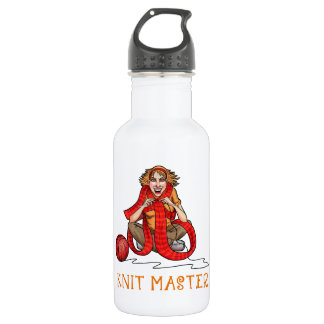 The Knit Master Stainless Steel Water Bottle