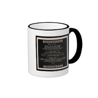 The Knots Prayer Coffee Mugs