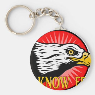 The Know Frills Keychain