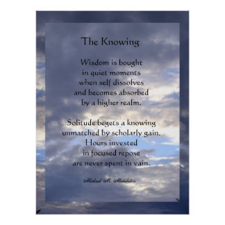 The Knowing Posters