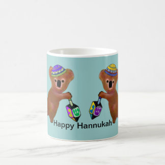 The Koala Dreidel Game Mugs