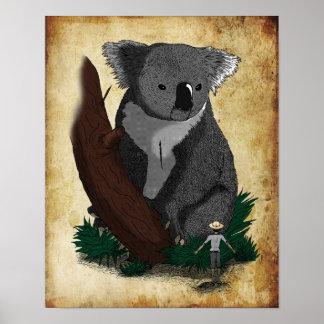 The Koala King Poster