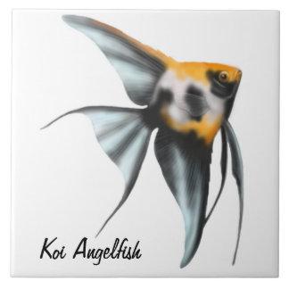 The Koi Angelfish Tile