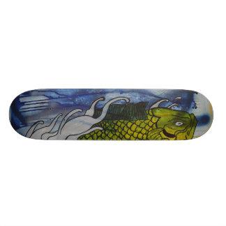 The Koi Custom Skate Board