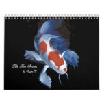 The Koi Series, by Sister C Wall Calendars