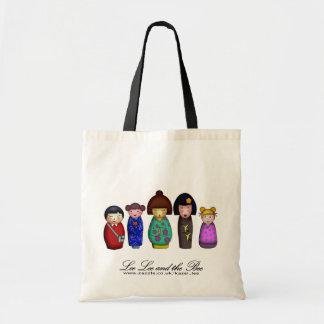 The Kokeshi Girls, shopping bag