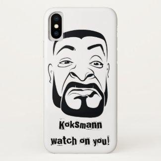 The Koksmann Watching You! iPhone X Case