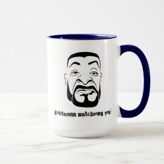 The Koksmann Watching You! Mug