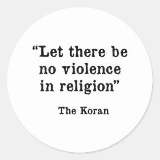 The Koran Classic Round Sticker