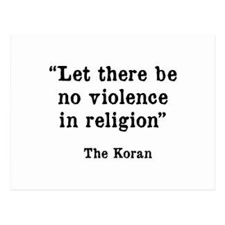 The Koran Postcard