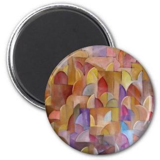 The Kotel 2 Inch Round Magnet