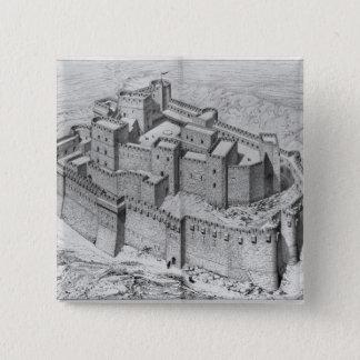 The Krak des Chevaliers, reconstruction Button