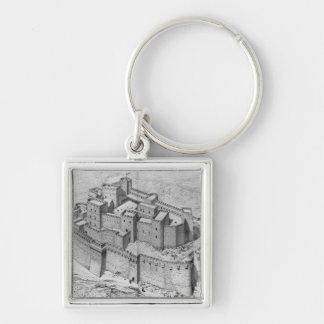 The Krak des Chevaliers reconstruction Key Chains