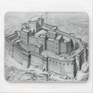 The Krak des Chevaliers, reconstruction Mouse Pad